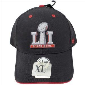 New w/Tags SUPER BOWL LI NFL Ball Cap 47 Brand